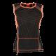 T-shirt rafraîchissant haute visibilité pour femme techniche europe orange