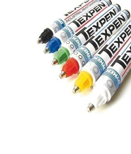 stylo indélébile pour toute surface Texpen disponible en différentes couleurs
