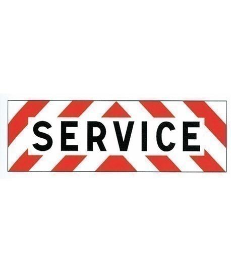 Panneau service, Vente de panneau autocollant, Balisage signalisation-lepont.fr