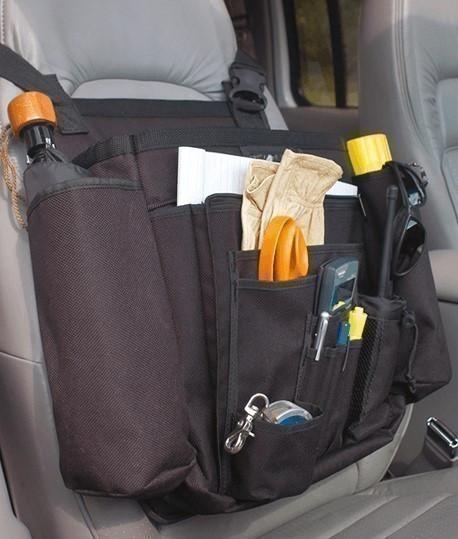 Sac organisateur de voiture, Sac de rangement pour chantier, www.lepont.fr