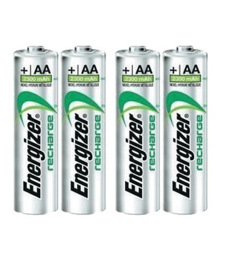 Lot de 4 accumulateurs AA, piles AA Energizer, Topographie-lepont.fr