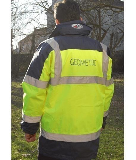 Parka de signalisation Piana, parka,vente de vetement de signalisation, manteaux, manteau