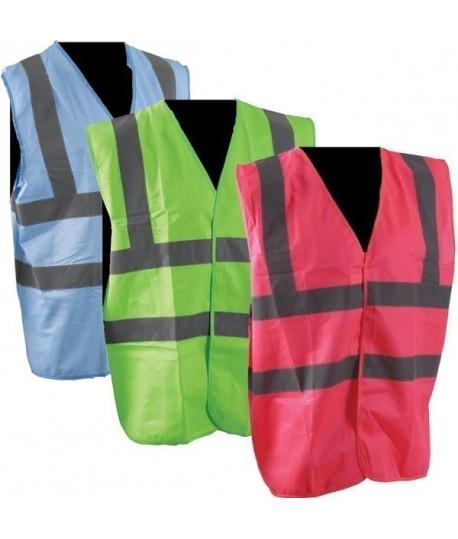 Vêtement de travail : gilet haute visibilité acidulé