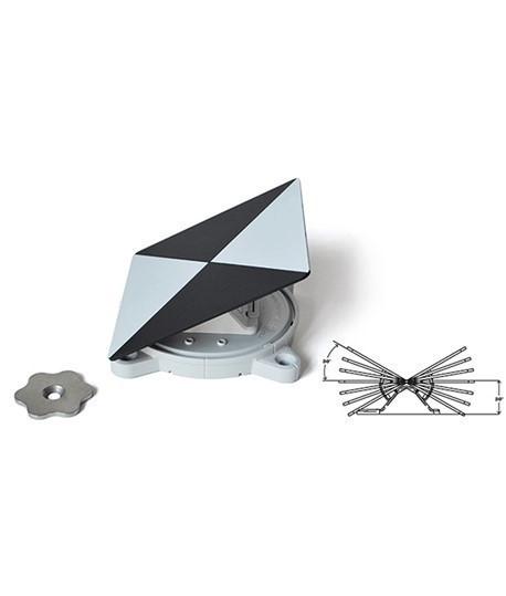 Cible universelle Rothbucher RSL-X90M / Cible pour scanner 3D / Lepont.fr