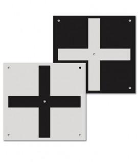 Cible RSL512 grand format pour drone ou scanner 3D