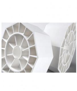 Borne plastique octogonale pose facile