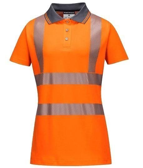 Polo haute visibilité pour les femmes Portwest, Lepont Equipements