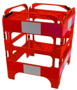 Barrière de chantier pliable PVC
