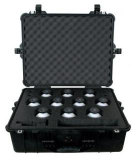 Valise rigide SECO 6703-11 pour 10 sphères 100mm - Lepont Equipements