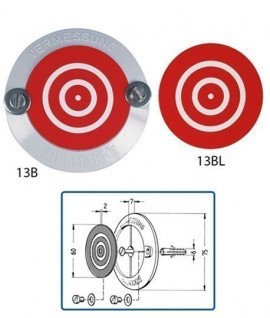 Cible Goecke 13B et 13BL avec ou sans support - Lepont Equipements