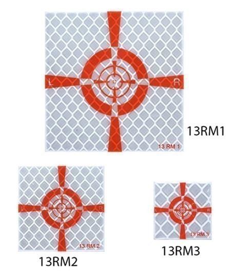 Cible réfléchissante Goecke 13R M1 M2 M3 - Lepont Equipements
