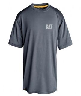 T-shirt anti-UV carbone de bambou Caterpillar Conquest performance