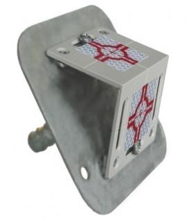 Plaquette de surveillance avec fixation RSAM80