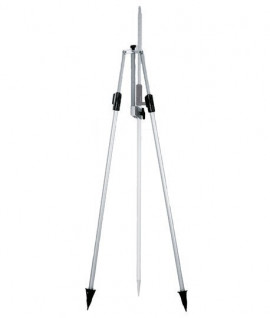 Double contrefiche Leica GSR2, bipode, canne, porte-prisme-Topographie-lepont.fr
