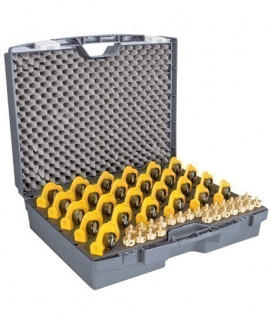 Malette pour prismes ou cibles d'auscultation Goecke - Lepont Equipements