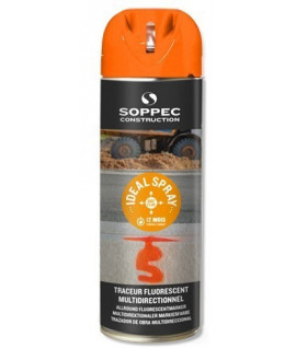 Traceur de chantier fluo IDEAL SPRAY - Lepont Equipements