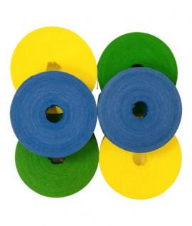 Ruban de signalisation couleur biodégradable