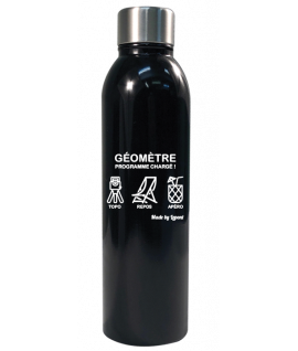 BOUTEILLE ISOTHERME 50CL FUN GEOMETRE
