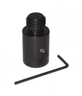 Adaptateur prisme 5/8e, adaptateur pour canne type LEICA, Topographie-lepont.fr