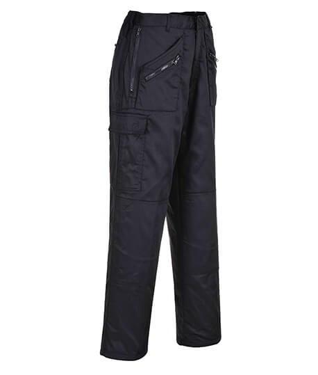 Pantalon de travail multipoches doublé