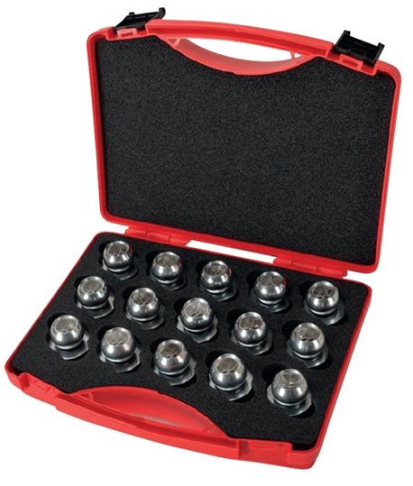 Mallette pour mini-prismes sphériques de surveillance 46-1445/50 Bohnenstingl