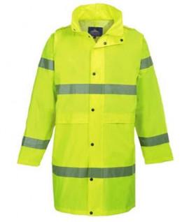 Manteau de pluie haute visibilité premium
