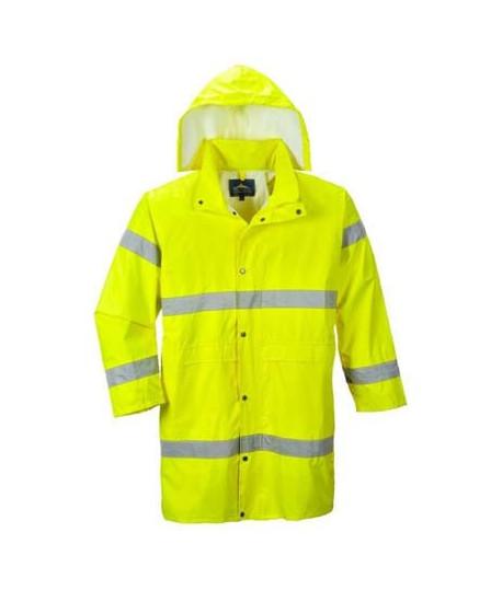 Manteau de pluie haute visibilité