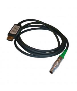 Câble de transfert GEV234 des données Lemo vers USB