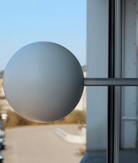 Support à ventouse pour sphère scanner 3D