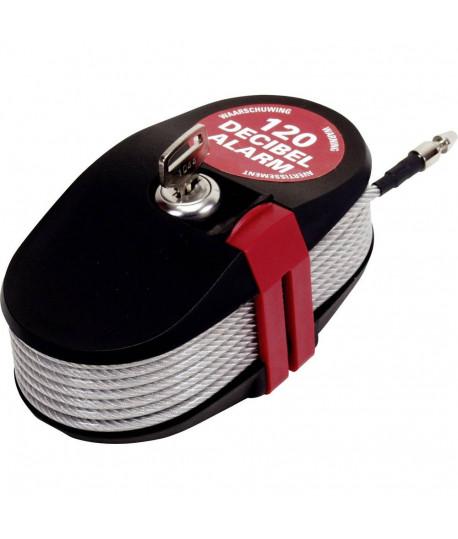 Cable sonore lock alarm, anti vol, antivol, Vente de cable sonore, Accessoire terrain - lepont.fr