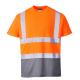 T-shirt haute visibilité Basics PORTWEST manches courtes, vêtement de travail, EPI