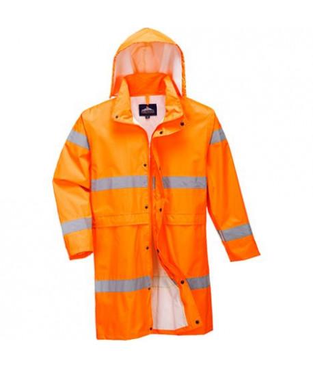 Manteau de pluie haute visibilité Portwest H442 Orange