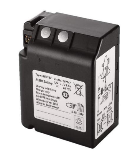 Batterie GEB187 pour Leica TPS1000