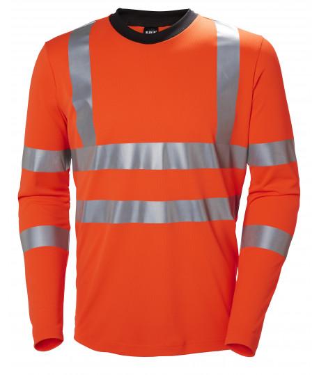 T-shirt respirant anti-UV haute visibilité manches longues HELLY HANSEN