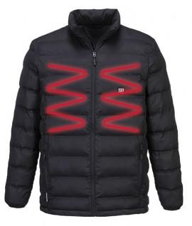Doudoune chauffante hiver grand froid, vêtement de travail pour géomètre