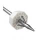 Borne plastique octogonale + ancrage harpon