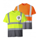 T-shirt haute visibilité personnalisable, sérigraphie, EPI