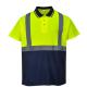 Polo haute visibilité Basics personnalisable, sérigraphie