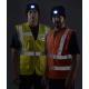 Gilet haute visibilité à LED mutipoches - LEPONT EQUIPEMENT