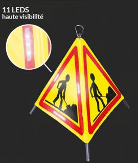 Tripode de signalisation à leds