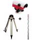 Pack niveau optique Leica NA724 + trépied + mire