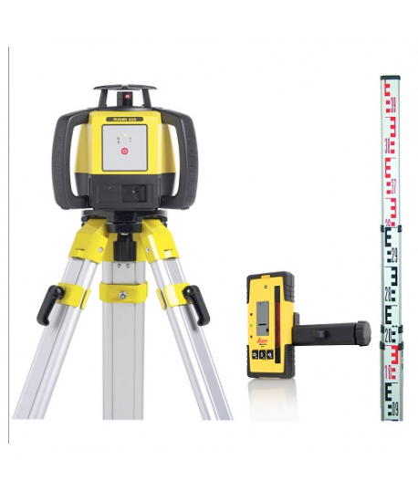 Pack laser Leica RUGBY 610+RE 120+Trépied+Mire