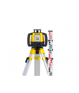 Pack laser Leica RUGBY 620+ RE 120+ Trépid+Mire
