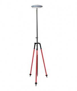 Tripode porte-canne télescopique, 5218-40-RED, tripode pour géomètre
