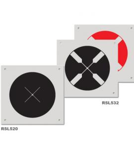 Cible ronde RSL520/532 pour drone ou scanner 3D