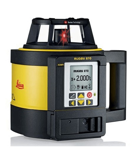Laser rotatif monopente Rugby 870