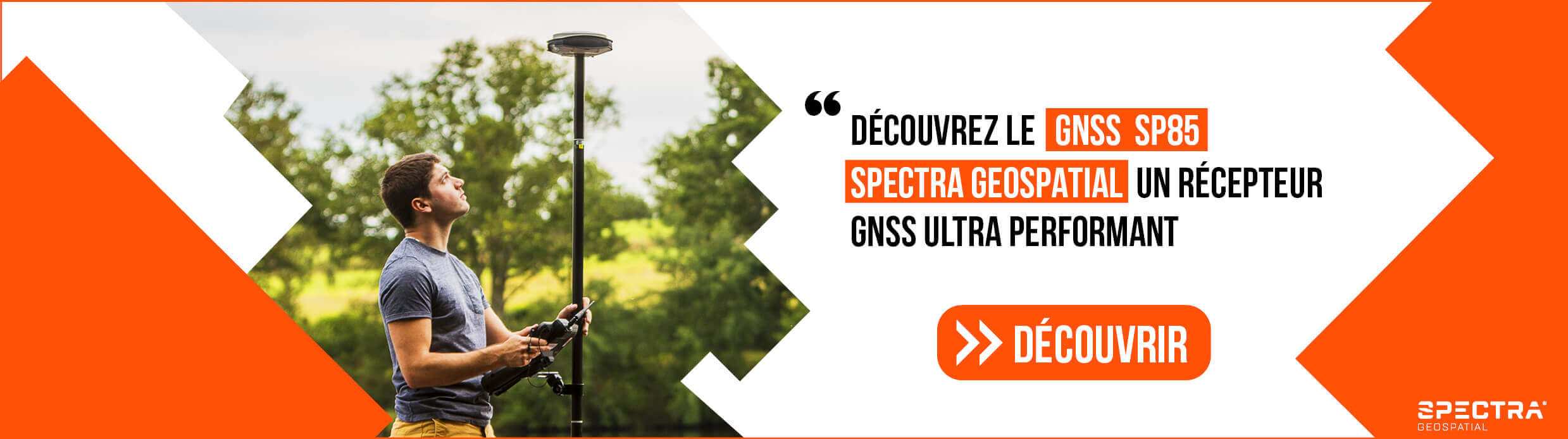 Récepteur GNSS SP85 Spectra