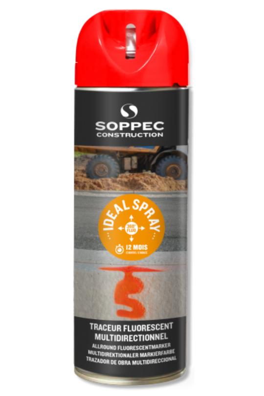 Ideal Spray traceur de chantier soppec