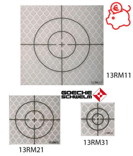 Cible feuille basics 13RM11 13RM21 13RM31 Goecke