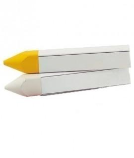 craie route metrica jaune blanc